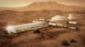 Mars City Mock-up