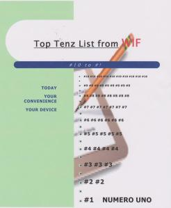Top Tenz from WIF