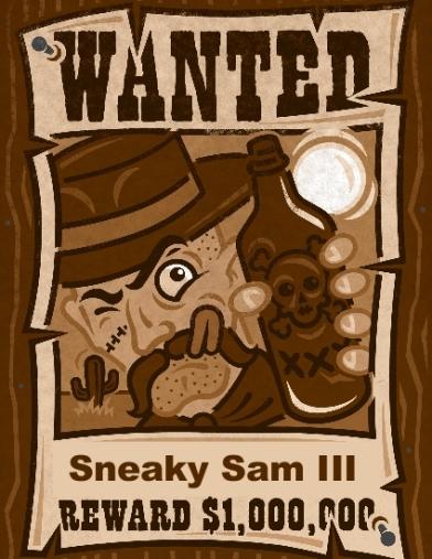 Sneaky Sam-001