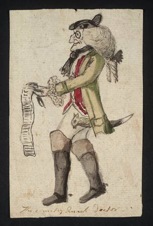 The Visiting Quack Doctor null British School 18th century 1700-1799 Purchased as part of the Oppé Collection with assistance from the National Lottery through the Heritage Lottery Fund 1996 http://www.tate.org.uk/art/work/T10122