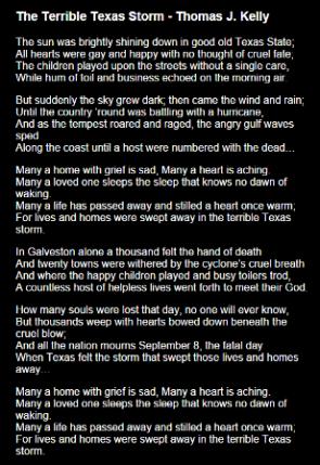 Terrible Texas Storm