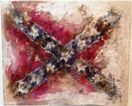 Confederate Flag Art