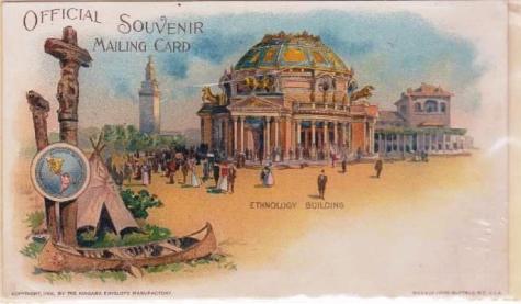 Pan American Mailing Card