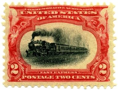 Pan American stamp