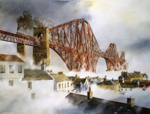 Haar on the Forth by Alan Reed