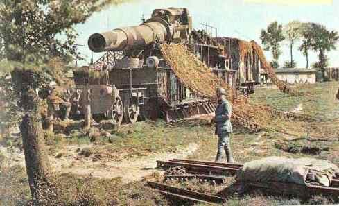 Verdun German Artillery