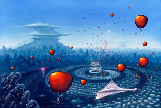 Alien Life Forms by Richard Bizley