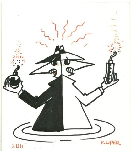Spy vs Spy by Peter Kuper