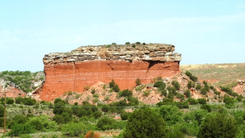 Briscoe_County_Butte_in_Tule_Canyon,_Texas