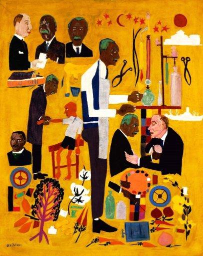 Dr. George Washington Carver by William H. Johnson