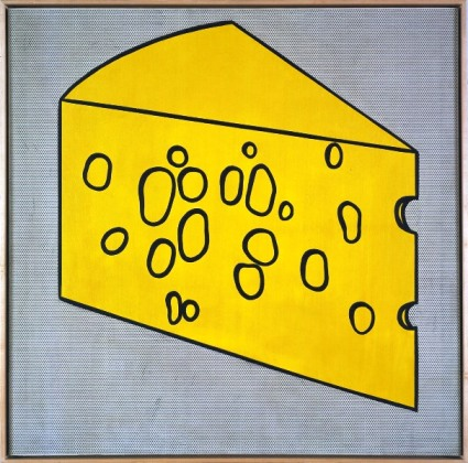 Swiss Cheese by Roy Roy Lichtenstein
