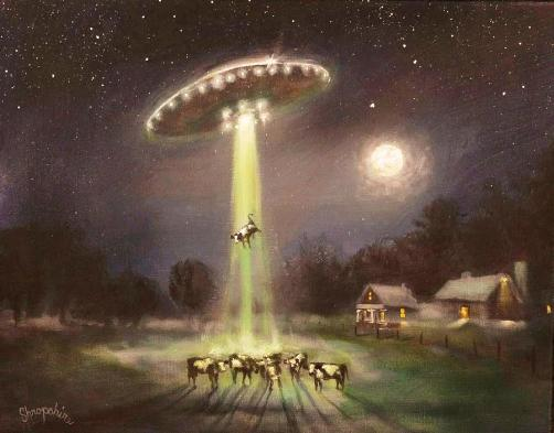 Alien Abduction by Tom Shropshire
