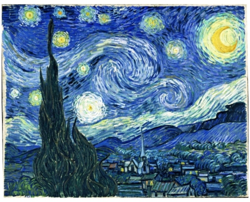 Starry Nite by Vincent Van Gogh