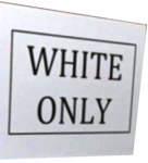 white-only