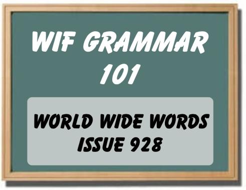 WIF Grammar 101-001