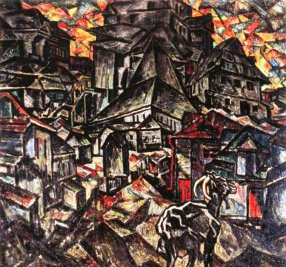 The Destruction of the Ghetto by Abraham A. Manievich