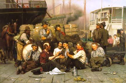 The Longshoremen by John George Brown