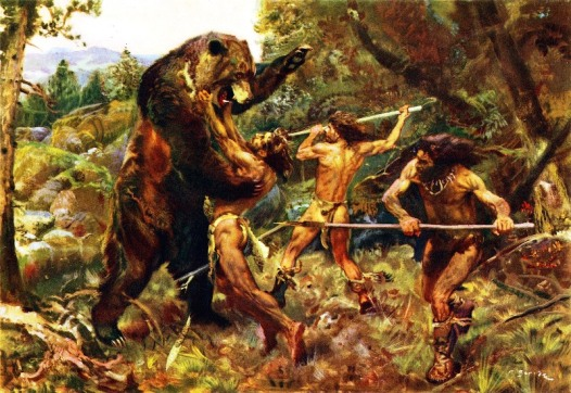 hunting-the-cave-bear