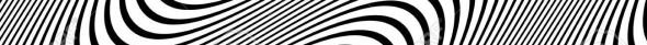 Black and White Pattern with Wavy Lines.