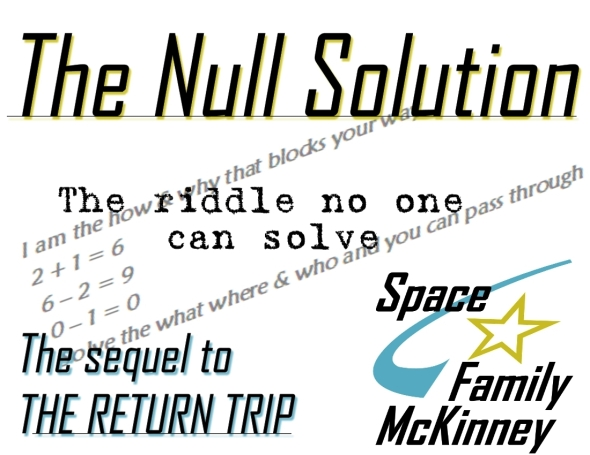 The NULL Solution = Cast of Characters